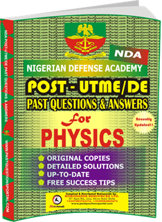 NDA Past UTME Questions for PHYSICS