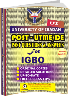 UI Post UTME Past Questions for IGBO