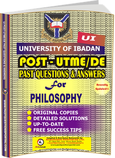 UI Post UTME Past Questions for PHILOSOPHY