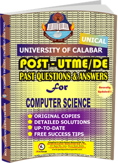 UNICAL Past UTME Questions for COMPUTER SCIENCE