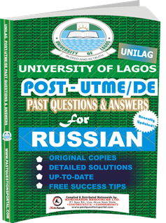 UNILAG Past UTME Questions for RUSSIAN