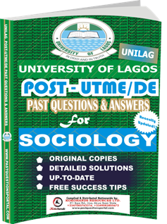 UNILAG Past UTME Questions for SOCIOLOGY