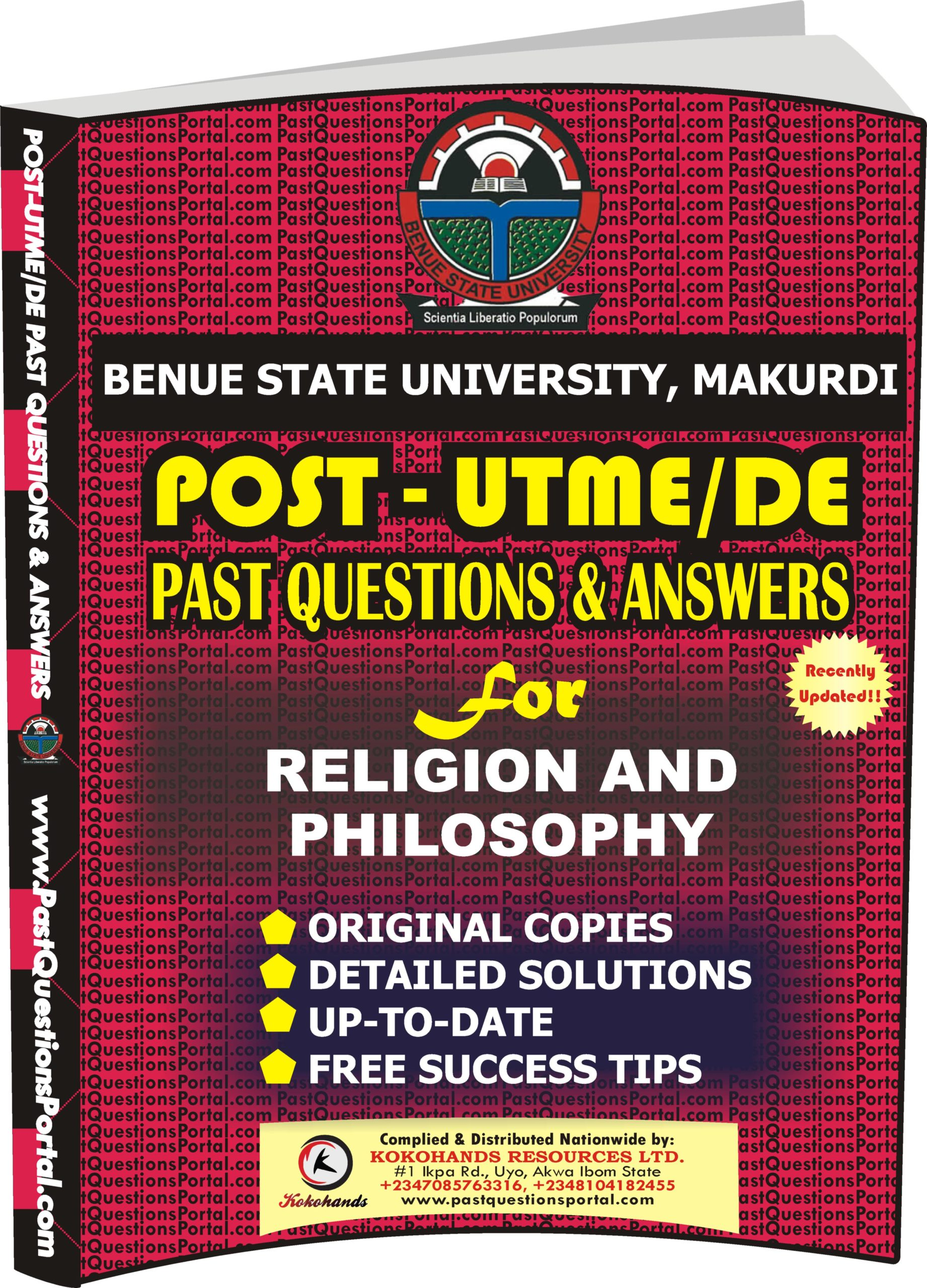BSUM Post UTME Past Questions for Religion and Philosophy
