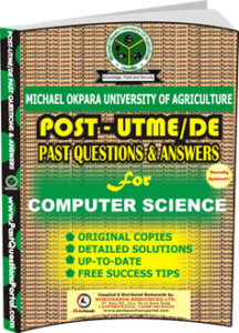 MOUAU Post UTME Past Question for COMPUTER SCIENCE