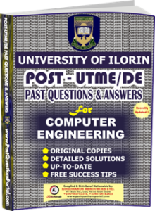 UNILORIN Post UTME Past Question for Computer Engineering