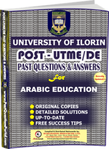 UNILORIN Post UTME Past Question for Education Arabic