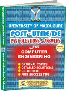 UNIMAID Post UTME Past Question for Computer Engineering