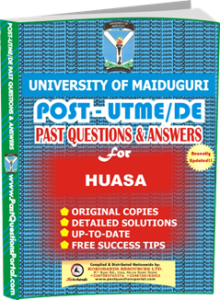 UNIMAID Post UTME Past Question for HAUSA