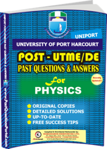 UNIPORT Post UTME Past Question for PHYSICS